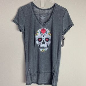 Grayson Threads Skull NWT T-shirt Size Small